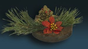 Świąteczna dekoracja nagrobna (mała) miniaturka